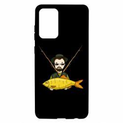 Чохол для Samsung A72 5G Fisherman and fish