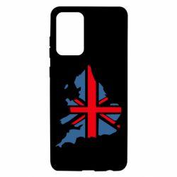 Чехол для Samsung A72 5G Флаг Англии