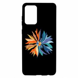 Чохол для Samsung A72 5G Flower coat of arms of Ukraine