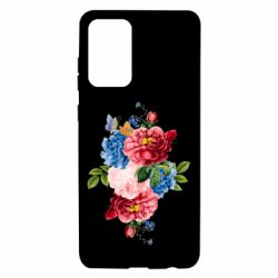 Чохол для Samsung A72 5G Flowers and butterfly