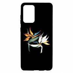 Чехол для Samsung A72 5G Flowers art painting