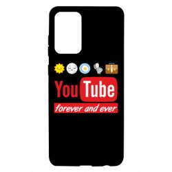 Чохол для Samsung A72 5G Forever and ever emoji's life youtube
