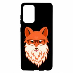 Чехол для Samsung A72 5G Fox with a mole in the form of a heart