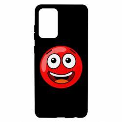 Чохол для Samsung A72 5G Funny Red Ball