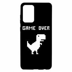 Чехол для Samsung A72 5G Game over dino from browser