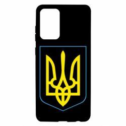 Чохол для Samsung A72 5G Герб України з рамкою