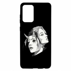 Чехол для Samsung A72 5G Girl and demon