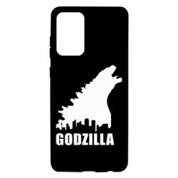 Чохол для Samsung A72 5G Godzilla and city
