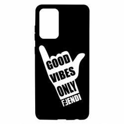 Чехол для Samsung A72 5G Good vibes only Fendi