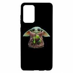 Чохол для Samsung A72 5G Grogu and Kermit