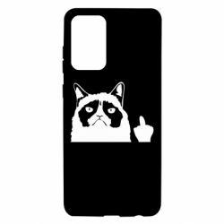 Чохол для Samsung A72 5G Grumpy cat F**k Off