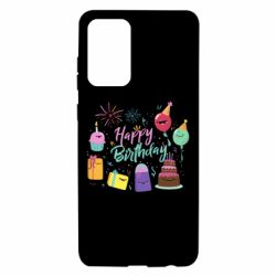 Чохол для Samsung A72 5G Happy Birthday