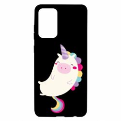 Чехол для Samsung A72 5G Happy color unicorn
