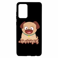 Чехол для Samsung A72 5G Happy pug