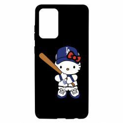 Чохол для Samsung A72 5G Hello Kitty baseball