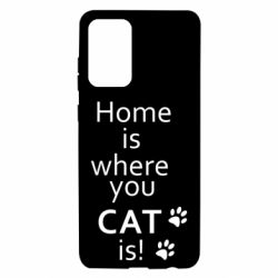 Чохол для Samsung A72 5G Home is where your Cat is!