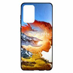 Чехол для Samsung A72 5G Horizon Zero Dawn art
