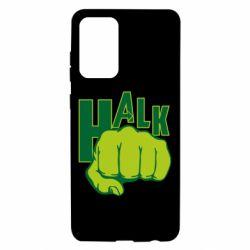 Чехол для Samsung A72 5G Hulk fist