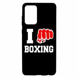 Чохол для Samsung A72 5G I love boxing