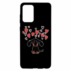 Чохол для Samsung A72 5G I love dachshund