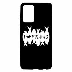 Чохол для Samsung A72 5G I Love Fishing