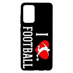 Чохол для Samsung A72 5G I love football