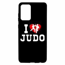 Чохол для Samsung A72 5G I love Judo