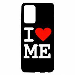 Чехол для Samsung A72 5G I love ME
