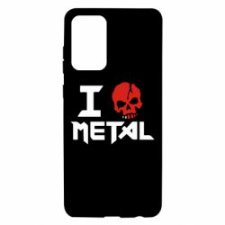 Чехол для Samsung A72 5G I love metal