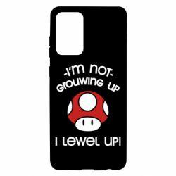 Чехол для Samsung A72 5G I'm not growing up, i level up