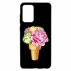 Чохол для Samsung A72 5G Ice cream flowers