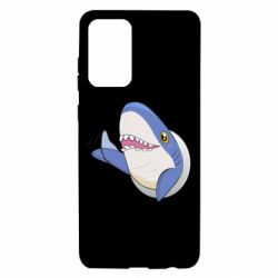 Чехол для Samsung A72 5G Ikea Shark Blahaj