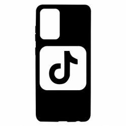 Чехол для Samsung A72 5G Иконка тик ток