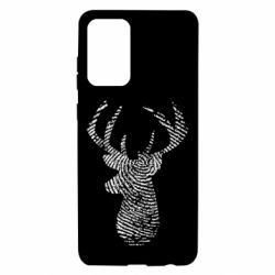 Чохол для Samsung A72 5G Imprint of human skin in the form of a deer