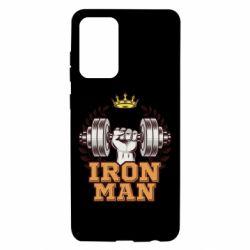 Чохол для Samsung A72 5G Iron man and sports