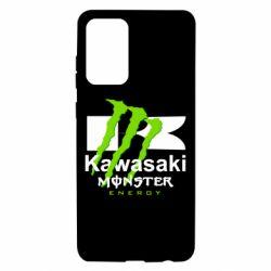 Чехол для Samsung A72 5G Kawasaki Monster Energy