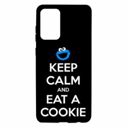 Чехол для Samsung A72 5G Keep Calm and Eat a cookie