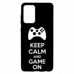 Чехол для Samsung A72 5G KEEP CALM and GAME ON