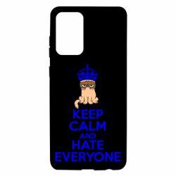 Чехол для Samsung A72 5G KEEP CALM and HATE EVERYONE