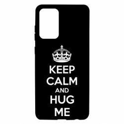 Чохол для Samsung A72 5G KEEP CALM and HUG ME
