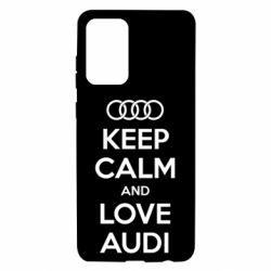 Чехол для Samsung A72 5G Keep Calm and Love Audi