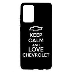 Чохол для Samsung A72 5G KEEP CALM AND LOVE CHEVROLET