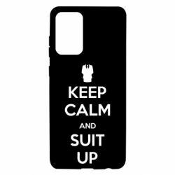 Чехол для Samsung A72 5G Keep Calm and suit up!