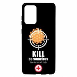 Чехол для Samsung A72 5G Kill coronavirus the doctor will help