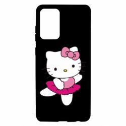 Чехол для Samsung A72 5G Kitty балярина