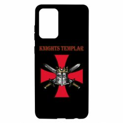 Чохол для Samsung A72 5G Knights templar helmet and swords