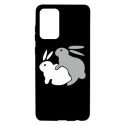 Чохол для Samsung A72 5G Кролики
