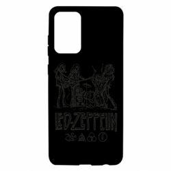 Чехол для Samsung A72 5G Led-Zeppelin Art