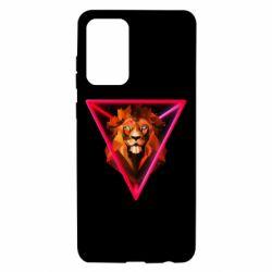 Чохол для Samsung A72 5G Lion art