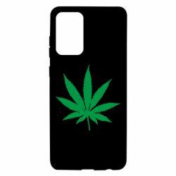 Чохол для Samsung A72 5G Листочок марихуани